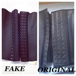 1b442cc378a How To Spot an Authentic Waist Trainer. Stop buying Fake brands